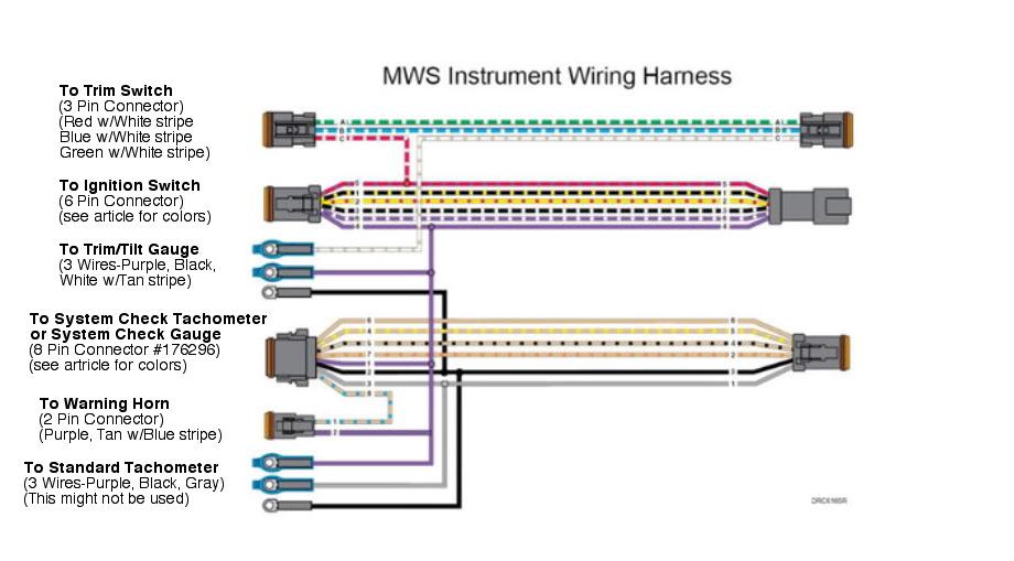 Omc Instrument Wiring Diagram - Wiring Diagram List on